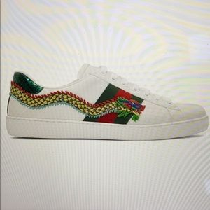 Gucci Ace Dragon Sneakers